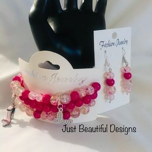 Bracelet Set with charms